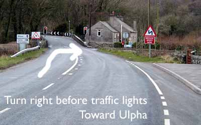 Turn right to Ulpha